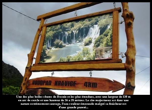 Kravice : lac et parc naturel de chutes en Bosnie-Herzégovine 21