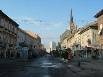 novi sad rue piétonne