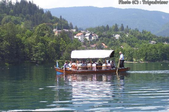 Bled ballade sur le lac