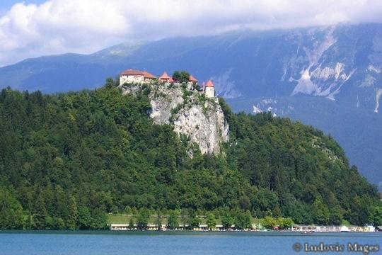 Bled chateau en Slovénie
