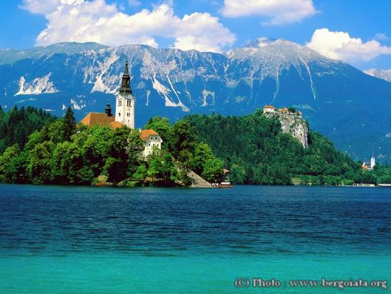 Lac de Bled Slovenie