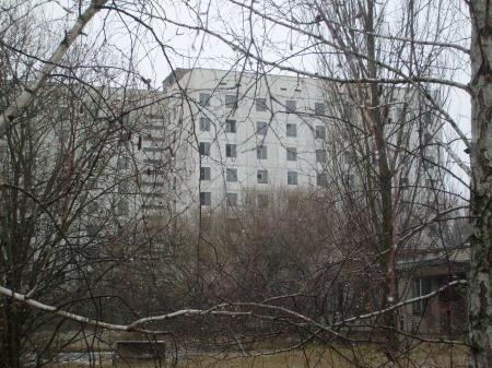 Tchernobyl Pripyat appartements ville fantome