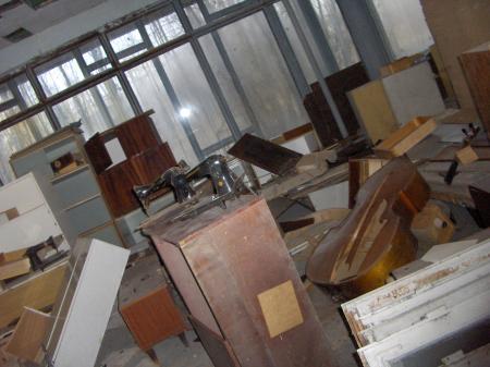 Tchernobyl Pripyat chaos