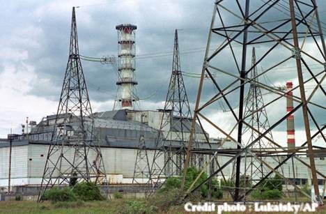 Tchernobyl centrale nucleaire