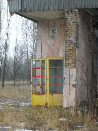 pripyat cabine téléphonique
