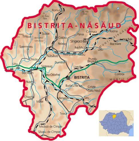 Bistrita-Nasaud-carte