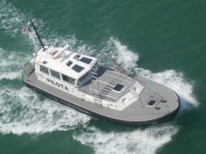 Le pilote quitte le ferry et le commandant re-devient le seul maître à bord