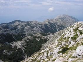 biokovo montagne croatie