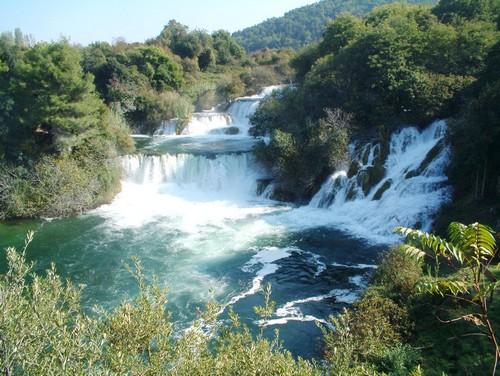 rivière krka parc national