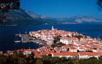 korcula croatie