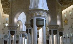 La grande Mosquée d'Abu Dhabi ; une splendeur (Tourisme Emirats Arabes) 7