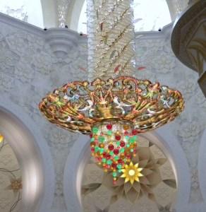 La grande Mosquée d'Abu Dhabi ; une splendeur (Tourisme Emirats Arabes) 10