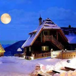 Kustendorf sous la neige