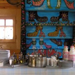 Village de Kusturica cuisine à Kustendorf