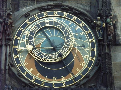 horloge astronomie prague