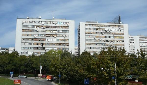immeubles belgrade novi beograd