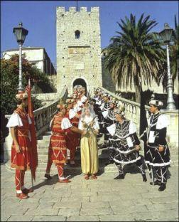 Korcula : Moreska, une tradition de l'île des chevaliers (Guide Croatie Tourisme) 1