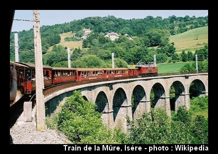 Train touristique de la Mure ; découvrir l'Isère par le chemin de fer 2