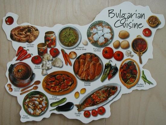 La cuisine bulgare - Guide Bulgarie 1