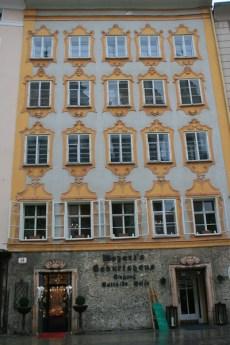 salzbourg facade autriche