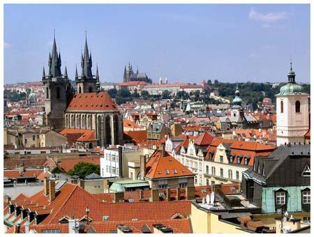 prague ville aux 100 clochers