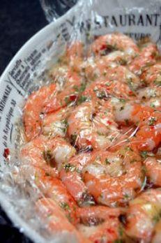 Crevettes marinées au citron et au gingembre ; Recette légère aux saveurs asiatiques 2
