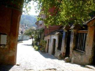 sighisoara rue