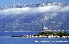Biokovo depuis l'Adriatique