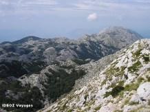 Biokovo montagnes