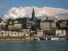 Belgrade ; Quartier Zemun, Sava et Danube