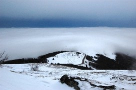 paysage de neige vosges