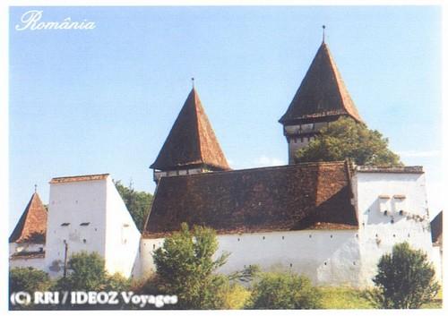 Dealu Frumos village saxon en Transylvanie