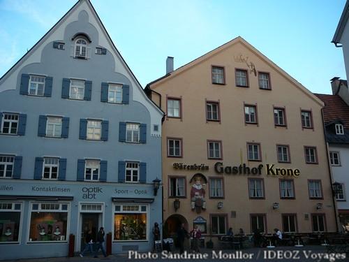 Gasthof Krone à Füssen (Bavière)