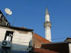 Mosquée de Carsija, vieux quartier turc de Skopje