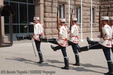 Sofia Bulgarie - gardes