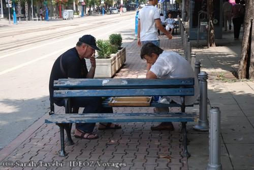 Sofia Bulgarie - scene du quotidien jeu de no