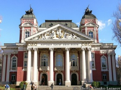 Théâtre national Ivan Vazov - Sofia Bulgarie