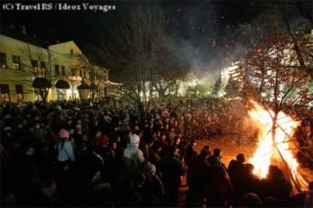Badnjak Noel en Serbie