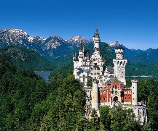 neuschwanstein chateau louis II de bavière