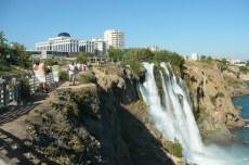 Antalya - cascade maritime de Duden