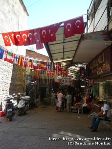 Antalya - entrée du bazar