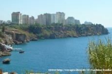 Antalya - ville moderne et mer