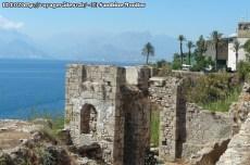 Antalya - vue sur la mer