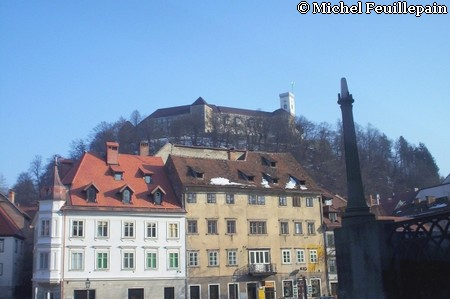 Chateau Ljubljana (Slovénie)