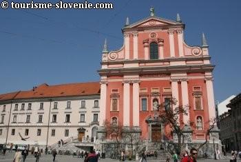 ljubljana église franciscaine