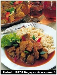 porkolt cuisine hongroise