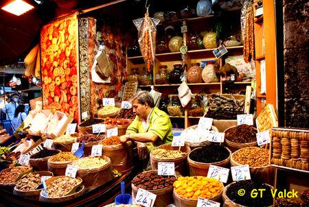 Visiter Istanbul : le bazar égyptien, bazar aux épices (Tourisme Istanbul) 2