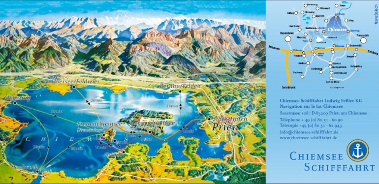 chiemsee carte