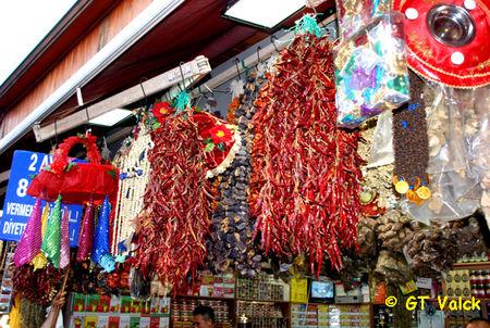 istanbul bazar egyptien Poivrons