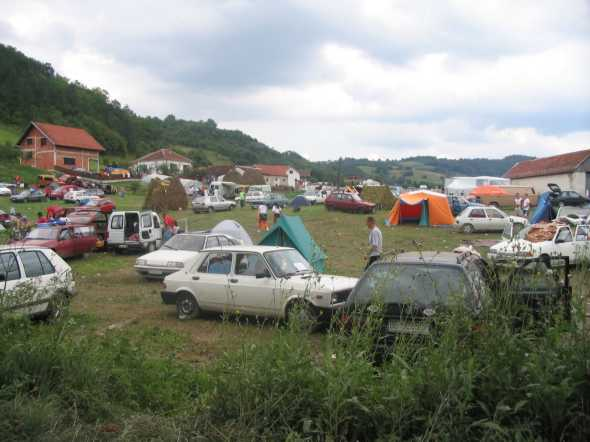 Guca festival Gucha Dragaveco : le festival des fanfares en Serbie 7